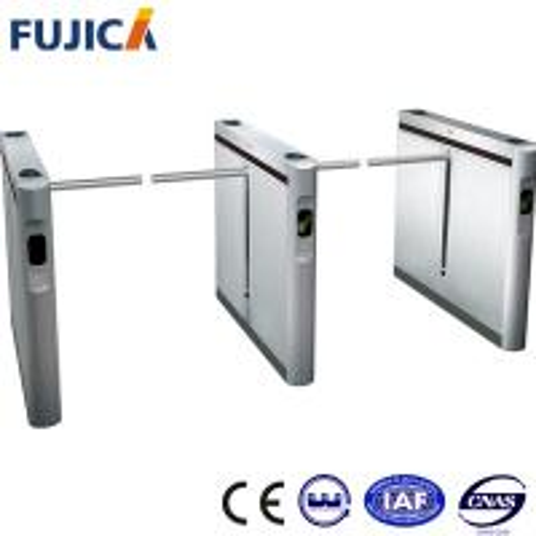 Ss stainless steel drop arm turnstile gate handicap