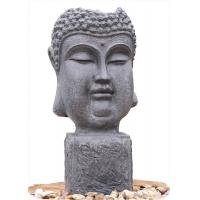 Buy cheap Outside Garden Buddha Head Fountain / Asian Outdoor Fountain With CE GS TUV UL product