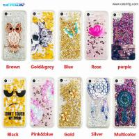 Buy cheap Transparent phone cases Fun Glitter Star Quicksand Liquid Phone Back cover For Iphone 5 6 6s plus 7 7plus 8 8plus x Sams product