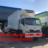 Buy cheap Customized SINO TRUK HOWO 10T refrigerated van truck for sale, best price HOWO reefer van truck for sale product