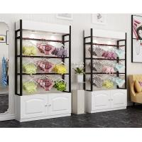 Colorful Underwear Clothing Display Racks With Cabinet 1200*400*2000mm