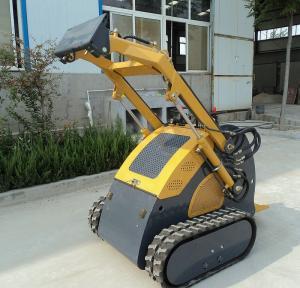 Buy cheap Diesel Engine Mini Skid Steer Track Loader , Hydraulic Breaker Crawler Loader product