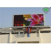 Buy cheap Outdoor P6 Commercial RGB Led display  Led Video Screen water proof cabinet product