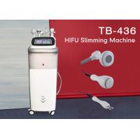 Buy cheap Vertival Multifunction HIFU Body Shaping Weight Loss Equipment With 4 Handles product