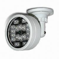 Buy cheap Long Distance IR Illuminator with 18pcs of Taiwan High-power IR LED and 60/30/15 Degrees Light Angle product
