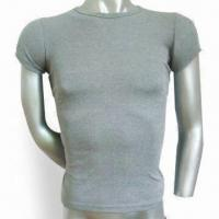 Buy cheap Thermal Underwear with Men's Short Sleeve Design, Various Sizes Available, OEM Service Offered product
