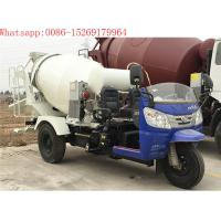 Buy cheap china high quality 3 wheel 28-32hp 2m3 concrete mixer trucks product