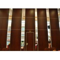 Buy cheap Folding Door Movable Partition Walls ,  Vinyl Partition Wall For Meeting Room product