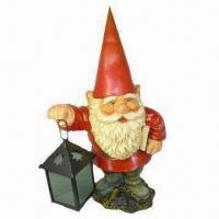 Buy cheap Polyresin Classic Carrying Lamp Gnomy Craft product