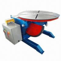 Buy cheap Welding Positioner, Machine Can Rotate 360° and Tilt 0 to 120°, Remote Box Control  product