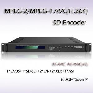 Buy cheap SDI SD IPTV MPEG-2 Encoder product