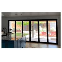 room folding door,folding grill doors,soundproof folding interior door,corner bi fold door,Folding Door Details 8