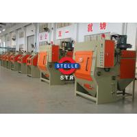 Buy cheap Tracked Automatic Sandblasting Machine Aluminum Products Hardware Decorations Support product