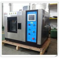 China Touch Screen Cold Climatic Temperature Humidity Chamber , Benchtop Environmental Test Chamber on sale