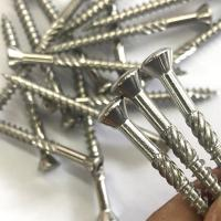 Buy cheap Aisi 304/A2 Inox 6 Lobes Torx T25 Star Decking Screws With Small Countersunk Head Cutting Rips And Groove product