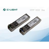 Buy cheap SFPP 2km BIDI Optical Transceiver 10GBase Ethernet LC Dulplex from Wholesalers