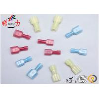 China Nylon Screw Fully Insulated Wire Connectors Male and Female Electric Terminal on sale