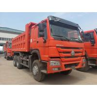 Buy cheap Middle Lifting Type Heavy Duty Dump Truck Cargo Size 5200 X 2300 X 1350 Mm product