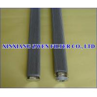China Pleated Wire Mesh Filter Cartridge on sale
