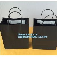 China 250gsm paper Custom Printed Luxury Gift Shopping bag with bow for gift package,Wholesale Kraft Food Packaging Bags, pack on sale