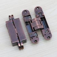 Buy cheap 3d removeble hinges concealed 180 Degree 3D Adjustable Invisible Door Hinges product