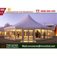 Buy cheap Easy Assemble Pagoda Party Tent Transparent PVC with Glass Wall and Doors from Wholesalers