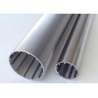 Buy cheap V Slot Filtering Stainless Steel Slot Tube With Profile Transverse Looped And Lengthways Support Rods product