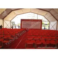 Buy cheap Anodized Aluminum Profile Outdoor Event Tent Water Proof Double Pitch Roof from Wholesalers