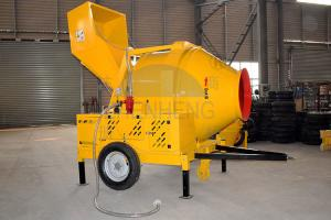 Buy cheap JZR500 Diesel Engine Reversing Drum Hydraulic Hopper Concrete Mixer product
