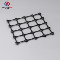 China 20-20 KN Pp Grid Plastic Geogrid For Base Subgrade Slope Embankment Reinforcement on sale