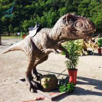 Buy cheap Jurassic park rides at outdoor amusement dinosaurs coin operated product