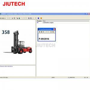 Buy cheap Lindos Parts Forklift Diagnostic Tools Catalog EPC For Linde Forklift Diagnostic from wholesalers
