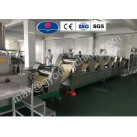 Buy cheap Automatic PLC control Non Fried Instant Noodle production line or instant pasta product