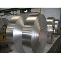 Buy cheap Thickness 0.10-3.0mm Aluminium Foil Strip , Brushed Aluminum Strips For Multilayer Pipe product