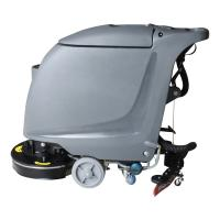 Buy cheap Electricity Or Battery Floor Washing Machine , Mini Industrial Floor Cleaners For School from wholesalers