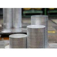 Buy cheap 1.0mm 6082 T6 Aluminum Sheet Circle , Cooking Pots Hard Aluminum Round Disc from Wholesalers