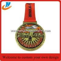 Buy cheap 3D medals custom,club metal sports medals,gold silver copper medal cheap wholesale product