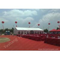 Buy cheap Outdoor Aluminum Alloy Skeleton Event Tent with Flame Retardant PVC Fabric from Wholesalers