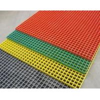 Quality Fiberglass Gratings for Industrial Purpose/ walkway thickness:25mm;size100x25mm for sale
