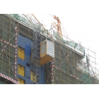 Buy cheap Rack Pinion 450M Man Hoist Construction Site Lift product