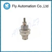 Buy cheap Silvery Single Acting Spring Return Cylinder 6mm Stainless Steel CJPB10-10 CJPB6-5 from wholesalers
