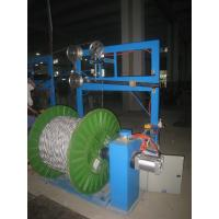 Pay Off  Electrical Core Wire Bunching Machine Single Shaft Active Type