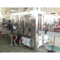Automatic Juice Filling Machine Electric Mineral Water Bottling Machine 10000 BPH