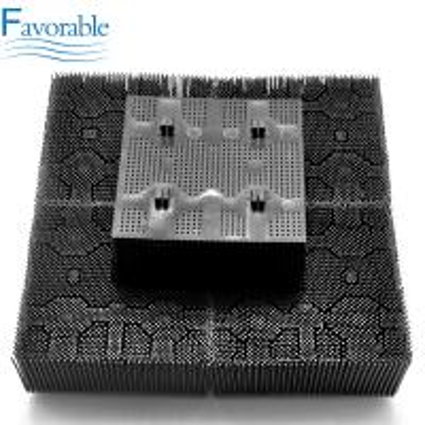 Quality Plastic Nylon Bristles Square Foot Suitable For XLC7000 Cutter Machine 92911001 for sale