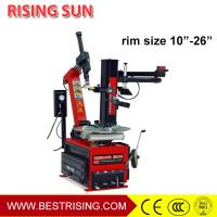 Buy cheap CE approved Car service station used rim clamp tire changer with assistant arm product