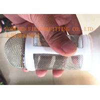Buy cheap SS304 Stainless Steel Wire Mesh Tube With PP / PE Handrail Corrosion Resistance from Wholesalers