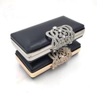 Buy cheap Handbags Accessories Custom Rectangle Gold Iron Metal Purse Frame Box Clutch Bag Frames product