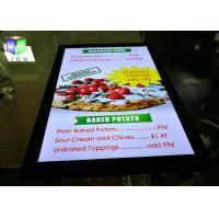 China 24 X 36 Picture Frame Led Light Box Panels For Menu Board , High Brightness on sale