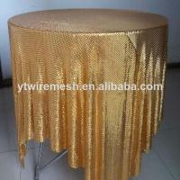 Buy cheap metal sequin table cloth from wholesalers