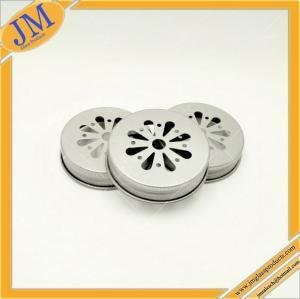wholesale 38mm mason daisy cut lid